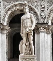 Dans la mythologie romaine, il est le dieu de la guerre. Il est assimilé au dieu grec Arès. Qui est-il ?