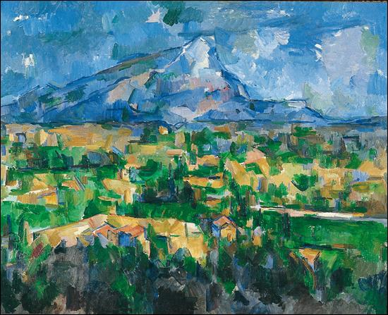 Quel est le titre de cette peinture de Paul Cézanne ?