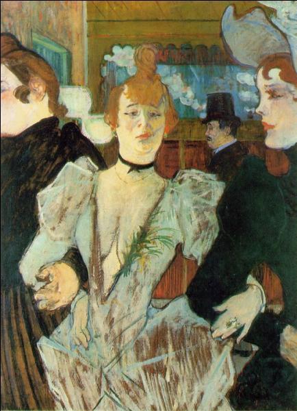 Qui a peint La goulue arrivant au Moulin rouge ?