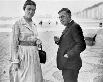 De qui Simone de Beauvoir fut-elle la compagne ?