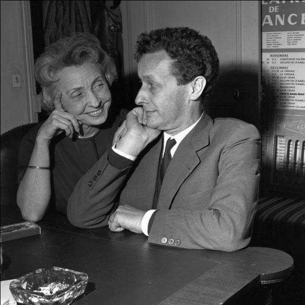 Madeleine Renaud fut une extraordinaire comédienne française et aussi le soutien fervent de son compagnon et mari. Qui était celui-ci ?