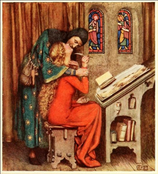 Ce professeur fabuleux tomba amoureux d'Héloïse, son élève, et il en paya durement les conséquences. Qui est ce grand lettré ?