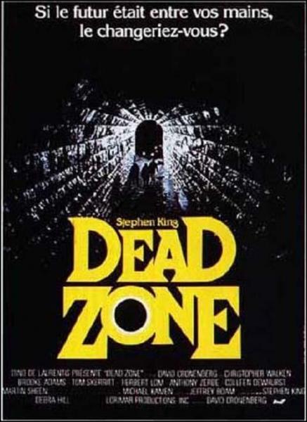 La série a été inspirée par un film adapté d'un roman de Stephen King ; qui jouait le rôle de Johnny Smith dans ce film ?