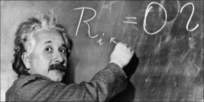 Albert Einstein aussi ne faisait pas que créer des théories fantastiques. Quelle était son autre grande occupation ?