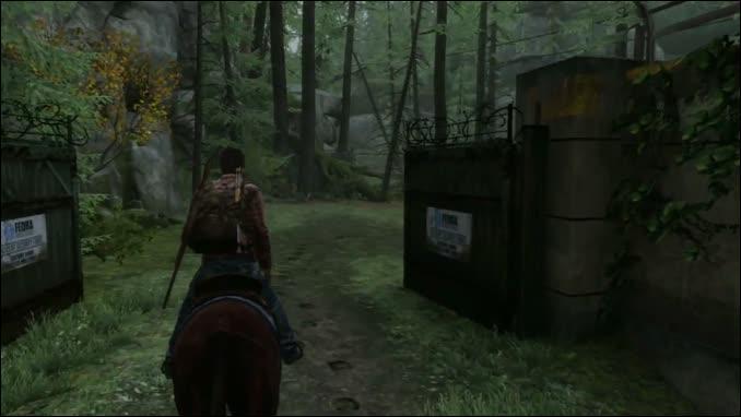 Pourquoi Ellie s'enfuie-t-elle à un moment du jeu ?