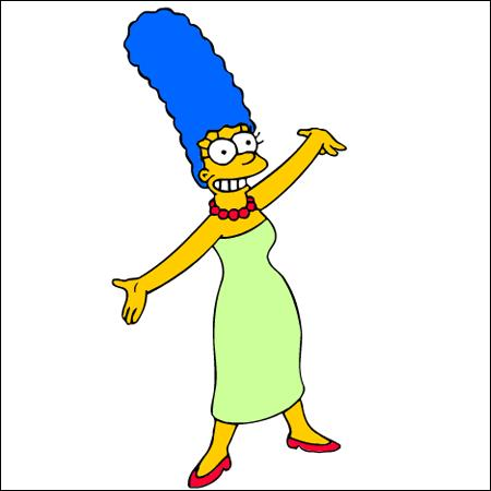 C'est la femme d'Homer son nom est :