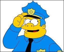 Ah le chef de la police son nom est :