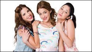 Qui sont les deux meilleures amies de Violetta ?