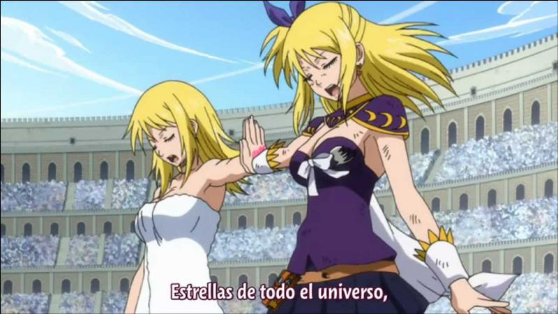 Le nom de l'héroïne de Fairy Tail est :