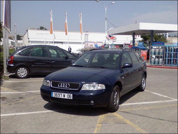 En quelle année l'Audi A4 Break est-elle apparue ?
