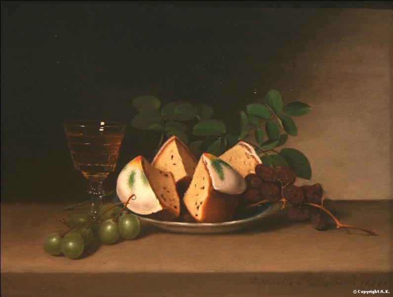 Déjà, les arômes de la pâtisserie se répandent. Je servirai le ------- avec une crème anglaise.