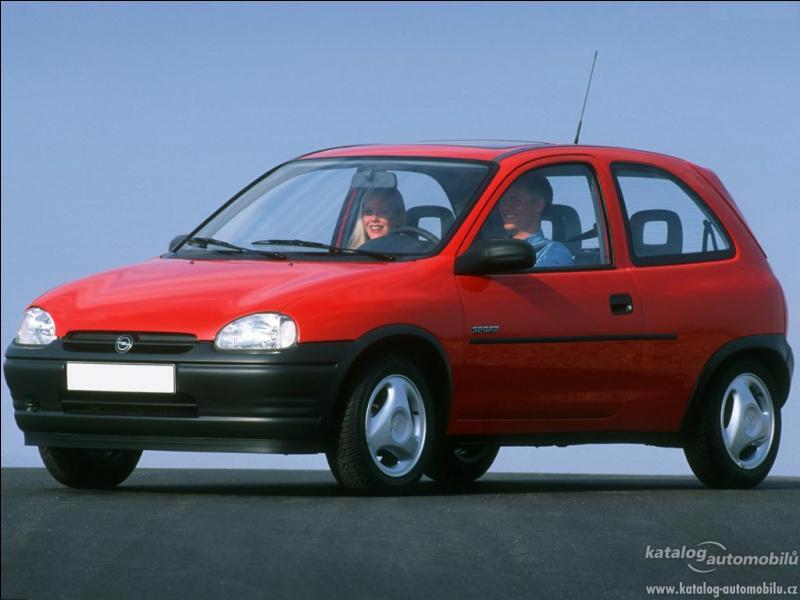 Quelle est la période de production de cette Opel Corsa B ?