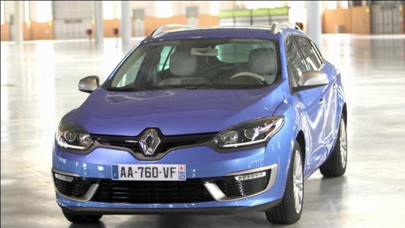 Quelle est l'année et le modèle de cette Renault Mégane estate phase 3 ?