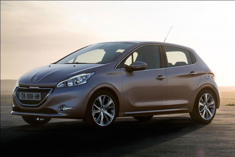 Quel est le nom de cette Peugeot ?