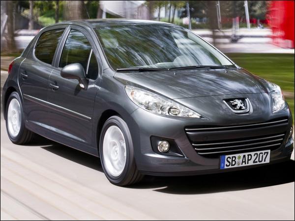 Quelle est la période de production de cette Peugeot 207 phase 2 ?