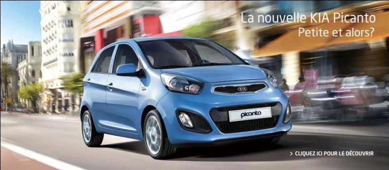 Quelle est l'année de sortie de la Kia Picanto deuxième génération ?