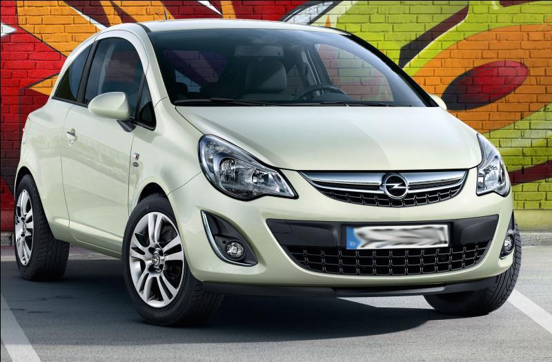 Quel est le nom de cette Opel ?