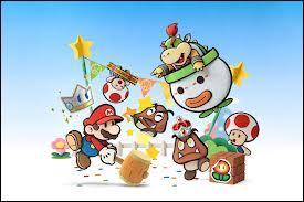 Qui est le flêche de Paper Mario : Sticker Star ?
