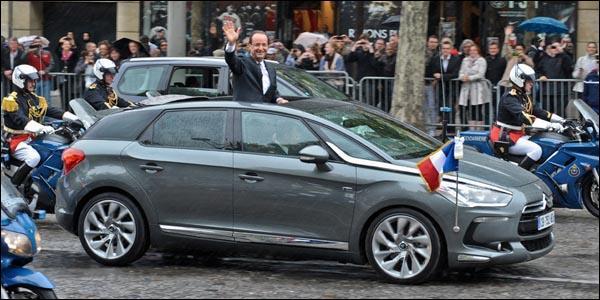 Quel est le nom et la marque de la voiture présidentielle ?