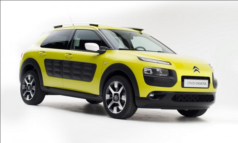 Pour quelle année est prévue la sortie de la Citroën C4-Cactus ?