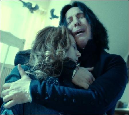 Rogue a toujours voué un amour fidèle à Lily. Lily décédée, à qui pense-t-il lorsqu'il lance son Patronus ?