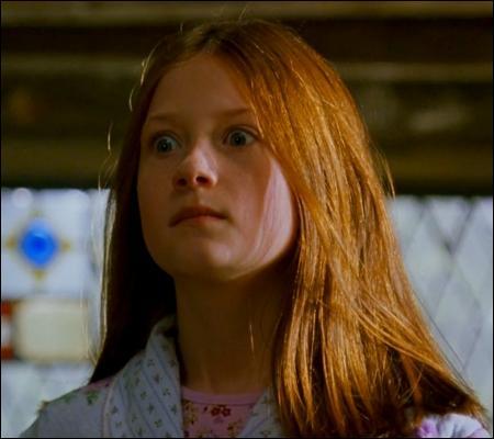 Une question spéciale 14 février... Complétez le message qu'a fait Ginny à Harry, dans ses années pleines d'insouciance : « C'est mon héros et mon roi...