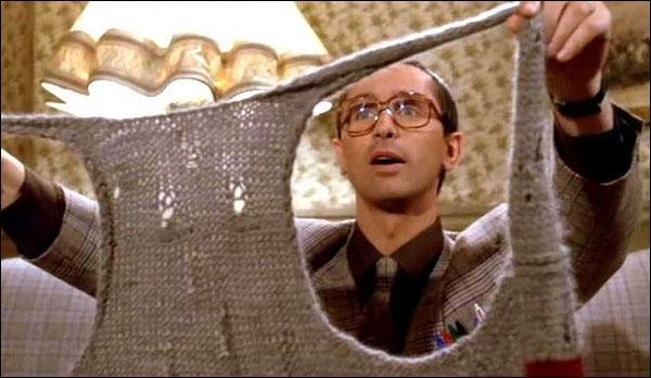 Ecoutez : De l'extérieur c'est déjà magnifique ! Oh Thérèse ! Une serpillère ! C'est formidable, écoutez fallait pas ...