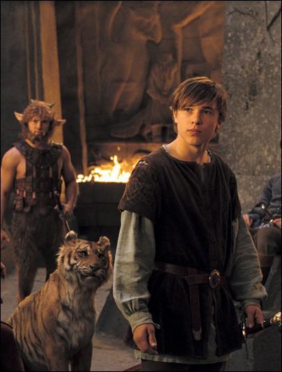 Sur cette image l'acteur anglais Willaim Moseley, quel tome de Narnia?