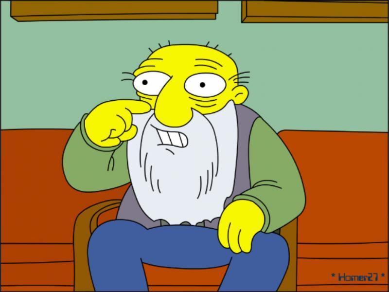 Voici un personnage qui partage la vie du père d'Homer et il s'appelle...