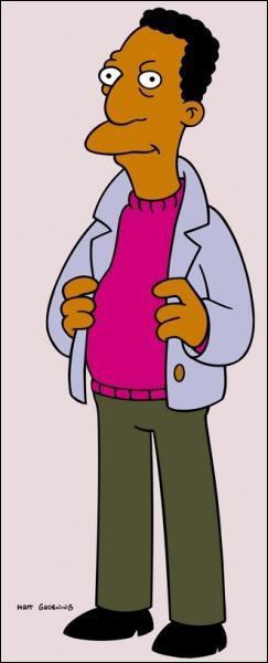 Comment se nomme ce personnage ? Il bosse avec Homer...
