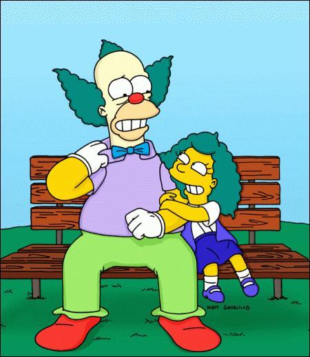 De quel instrument la fille de Krusty joue-t-elle ?
