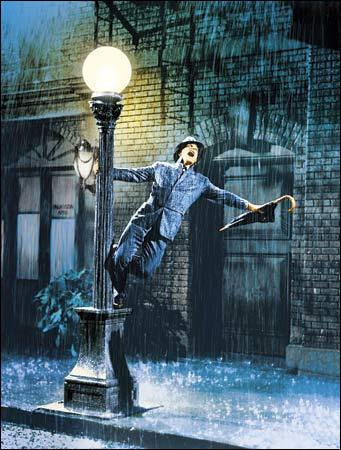 Quel personnage voit-on chanter sous une pluie acide ''I'm singing in the rain'' ?