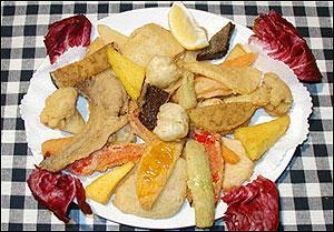 De quelle région italienne est le  fritto misto  ?