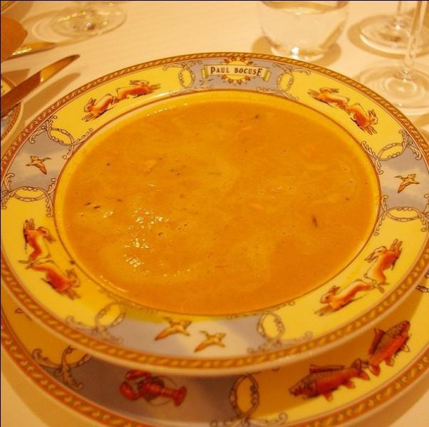 Mon mari a préféré une soupe de moules de bouchots ...