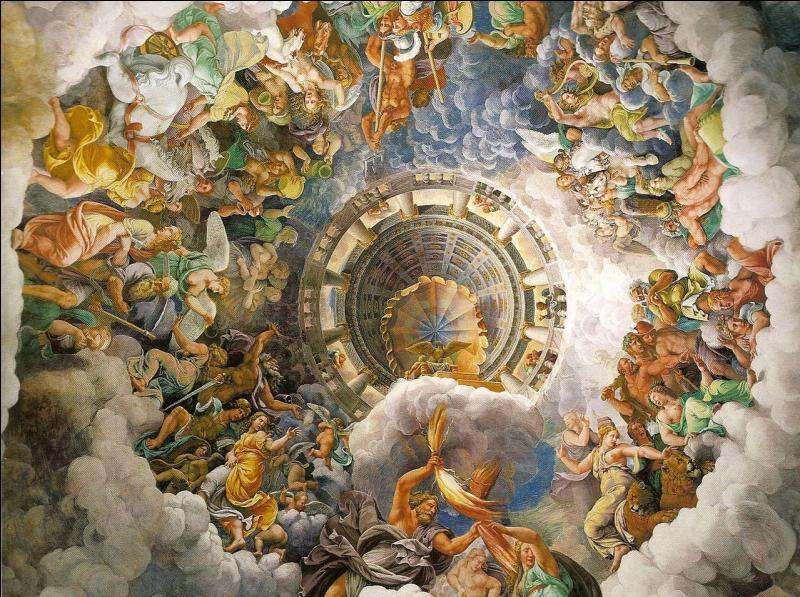 Sur quel mont vivent les dieux et les déesses ?