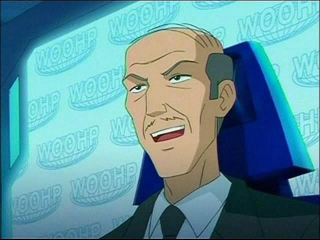 Dans la série ce personnage s'appelle ...