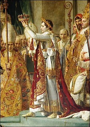 Il est sacré empereur à la cathédrale Notre-Dame de Paris le 2 décembre 1804. Comment s'appelait le pape ?