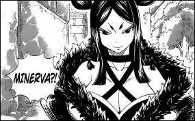 Après avoir disparu, Minerva réapparaît mais n'est plus membre de Sabertooth. Alors, de quelle guilde fait-elle partie ? (Avant d'être transformée en démon)