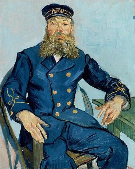Il quitte Paris pour Arles en Février 1888. Il y loue une aile de la célèbre maison jaune, peint le portrait de son voisin, facteur et véritable républicain engagé ayant pour nom...
