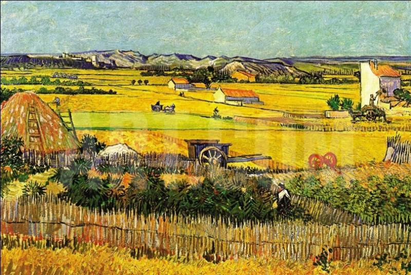 Il dessine et peint à Montmajour et dans la plaine de la Crau en juin et retrouve en octobre pour travailler en commun, son ami...