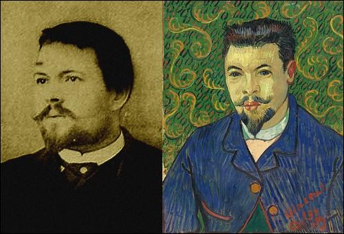 Le 23 décembre, dans une crise de rage, Vincent se coupe une partie du lobe de l'oreille. Il est hospitalisé à Arles et dès sa sortie peint le portrait de Félix Rey. Qui était ce personnage ?