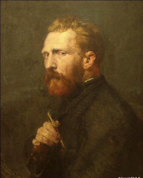 C'est à Paris qu'il rencontre les peintres Emile Bernard, Henri de Toulouse-Lautrec et John-Peter Russel dans l'atelier de Fernand-Anne Piestre. Lequel est l'auteur de cette toile, l'un des plus beaux portraits de Van Gogh ?