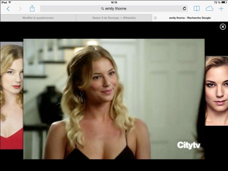 Dans l'épisode 13, de qui Emily se venge-t-elle ?