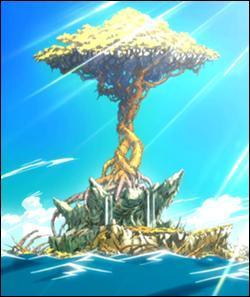 Quel est le nom de l'île sur laquelle les mages de Fairy Tail passent l'examen de classe S ?