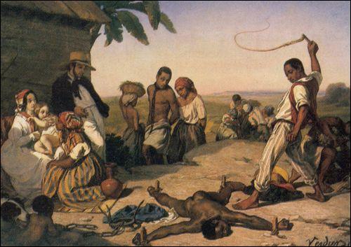Dans quel pays l'esclavage a-t-il été définitivement aboli en 1833 ?