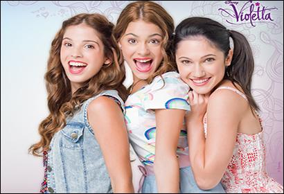 Qui est la meilleure amie de Violetta ?