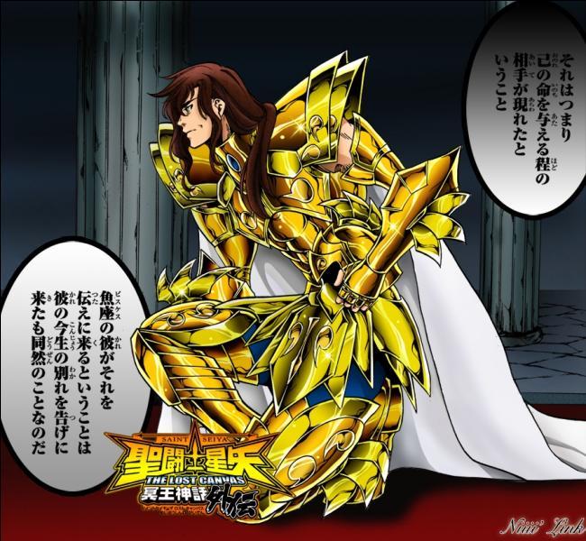 Le chevalier d'or des Poissons de la question 13 a eu pour maître le précédent chevalier d'or du même signe, comment s'appelait-il ?
