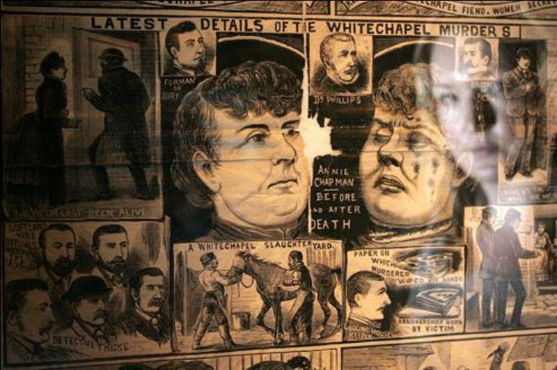 Voici quelques noms, Mary Ann Nichols, Annie Chapman, Elizabeth Stride, Catharine Eddowes, Mary Jane Kelly. Pourquoi sont-elles entrées dans l'histoire, à leur corps défendant ?