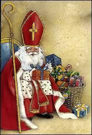 Quel est, dans la légende, le moyen de transport de Saint Nicolas ?