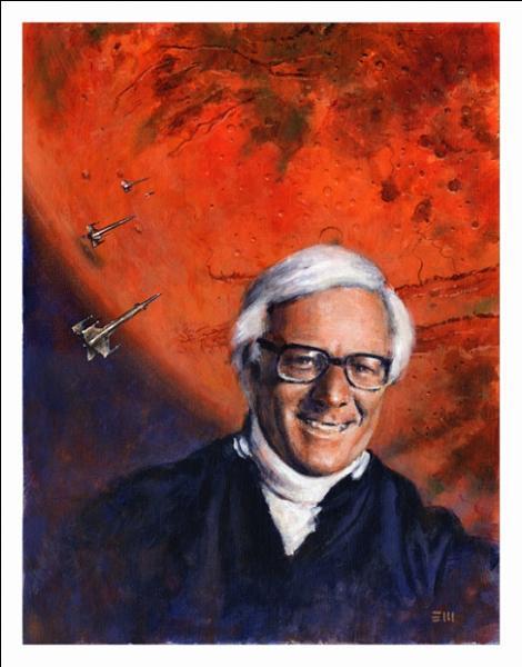 Cet écrivain américain, un des maîtres de la science-fiction, particulièrement connu pour ses  Chroniques martiennes , a écrit  Les pommes d'or du soleil  , recueil de nouvelles, en 1956. Qui est-il ?